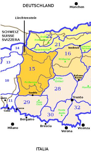 Gebirgsgruppe Rätische Alpen