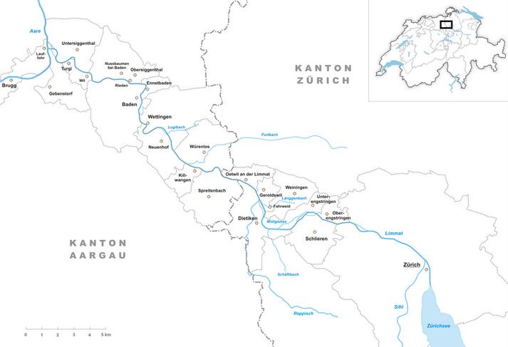 Hauptzufluss Des Zürichsees
